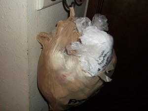 Some people may have saved up lots of plastic bags of the type Corvallis is about to ban.