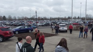 Outside an Albany gun show in March 2013.