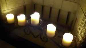 Want to save electricity? Light candles and forget about changing the time twice a year.