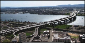 A rendering of the ill-fated Columbia River Crossing.