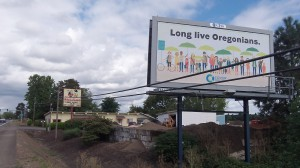 """Long live Oregonians""? Another slogan might be: ""Check the price tag."""