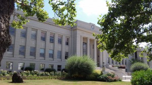 The Linn County Courthouse, where the tax department is housed.