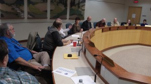 The Albany council at its meeting on Oct. 23.