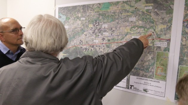 Maps and public input, part of the $10 million planning process.