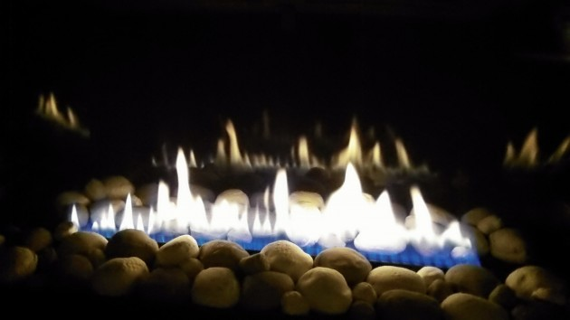 One of the things to be grateful for on a cold winter night: Natural gas.