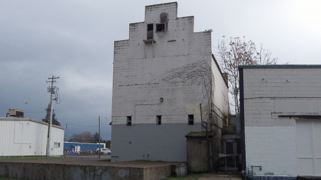 "The Borden Building ""tower,"" which would be repaired and repainted."