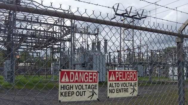 The Murder Creek substation serves a wide area in and around Albany.