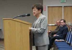 Former state Sen. Mae Yih urges the council to form the municipal utility because it would benefit residents.