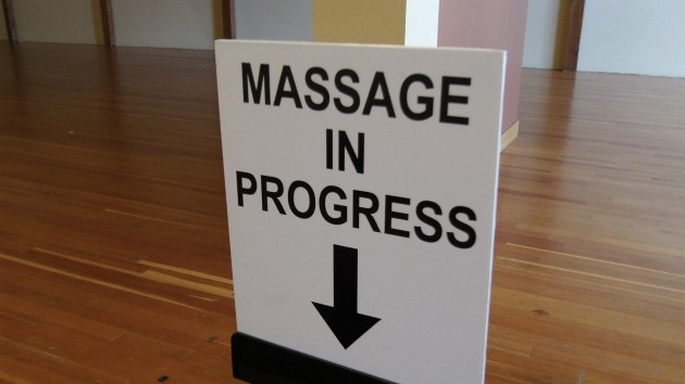Sign spotted in the lobby of a downtown building restored with CARA help. The CARA board is massaging the urban renewal plan to include proposed new police and fire stations.