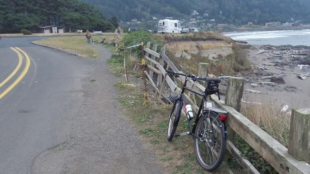 road crumbles bike