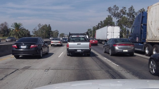 How would freeway driving in a big city work without fossil fuels?