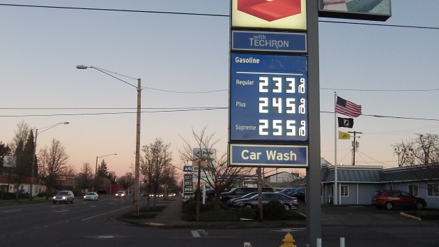 Gas prices Monday: A far cry from $3 or $4 a gallon.
