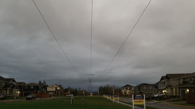 Part of our power grid, the BPA transmission line from near Lyons to Toledo runs through North Albany.