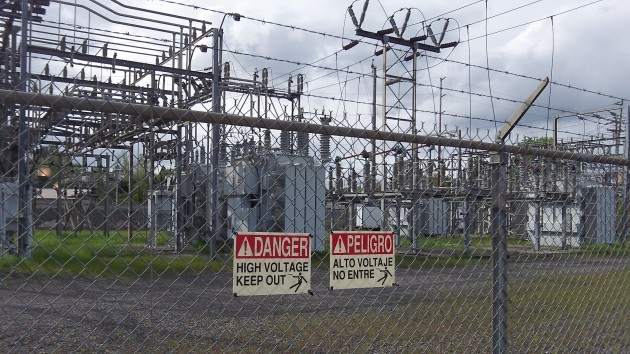 Pacific Power's Murder Creek substation.
