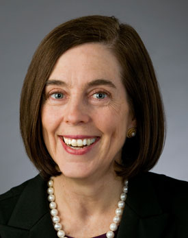 Kate Brown as she is pictured on the secretary of state's website.