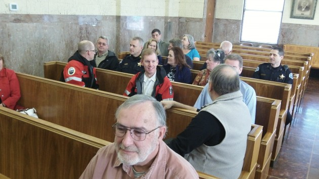In the courtroom March 5, before ballot challenges were argued.