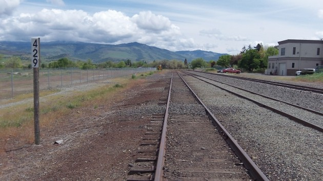 The Ashland rail yard, 429 miles from SF and quiet now, may see some traffic starting this fall.