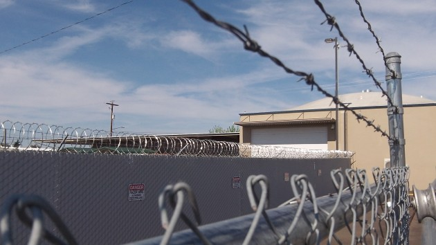 The county's storage facility across from the jail and Albany police station.