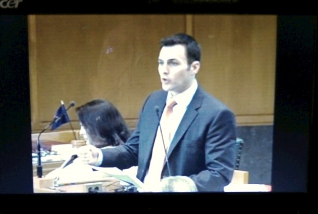 The House broadcasts its debates online: Here's Rep. Rayfield, D-Corvallis, on SN 941.