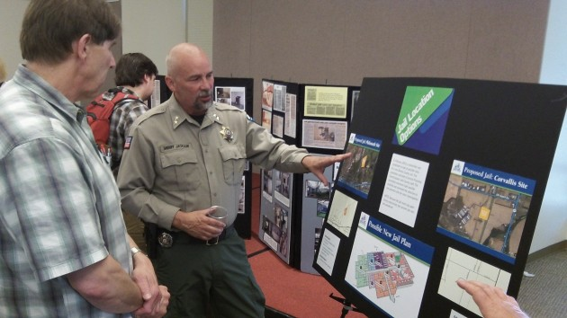 Sheriff Scott Jackson sees the lack of work-release space as among the biggest problems.