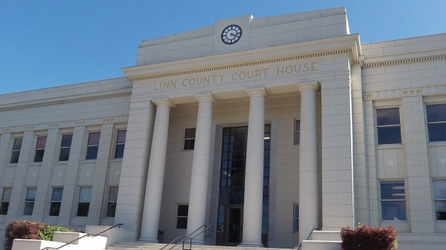 The Linn County Courthouse, where the Millersburg utility controversy has landed.