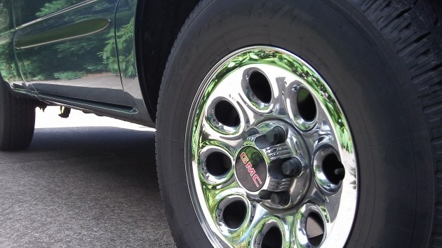 This wheel and its three colleagues covered 45 miles on July 14, OReGo reports.