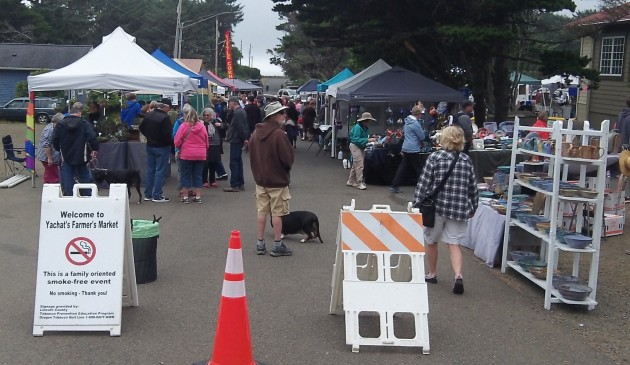 Only 37 miles from Albany to the Yachats Farmers' Market? Not really.