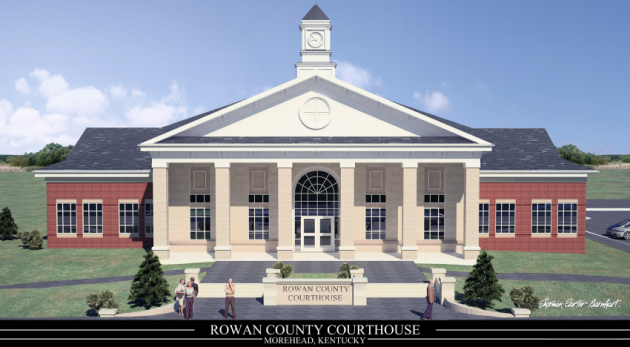 The Rowan County Courthouse as shown on the county's website.