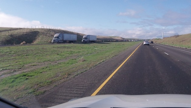 Like here on I-5 in California, 70 mph will be the legal speed on I-84 from The Dalles to Idaho starting in March.