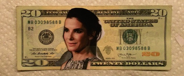 Here's another idea for  who could grace the front of the 20-dollar  bill.