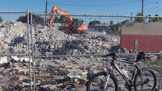 Albany's main fire station has been reduced to rubble, and the city is preparing to award a contract to replace it.