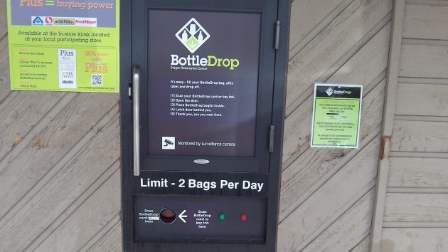 The two-bag limit is no good for people who have tons of empties to return.