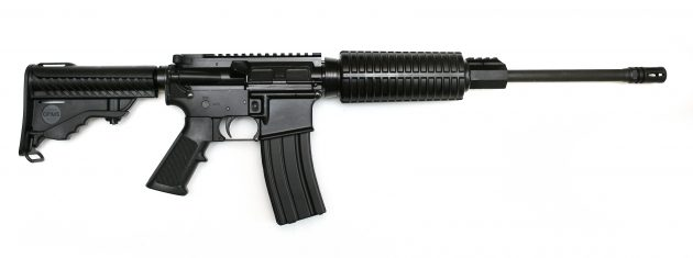 This illustration of an AR-15 rifle if one of many appearing online. A rifle of this type figured in the Lake Oswego case.