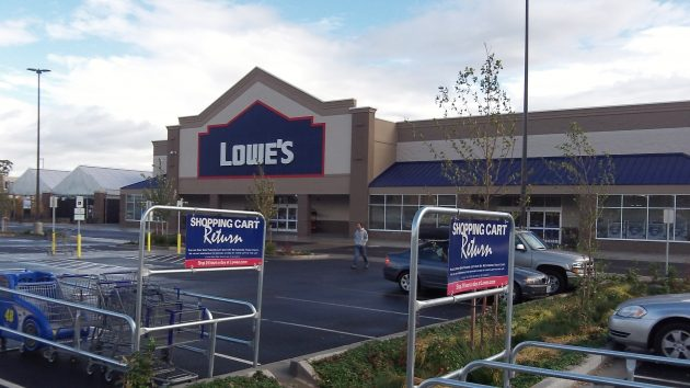 Lowe's new Albany home improvement center is on the tax rolls for the first time this year.