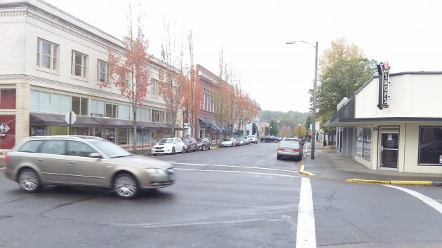 "Broadalbin and Third: Both are on the list to get a new ""streetscape."""