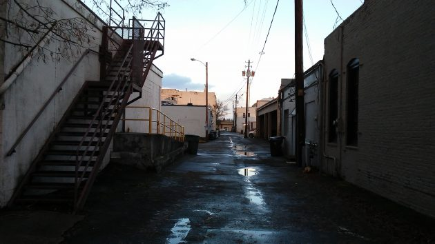 Improving alleys is not part of Albany's downtown plan, but lots of other things are and remain undone.