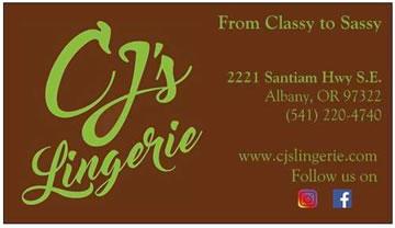 CJ's Lingerie