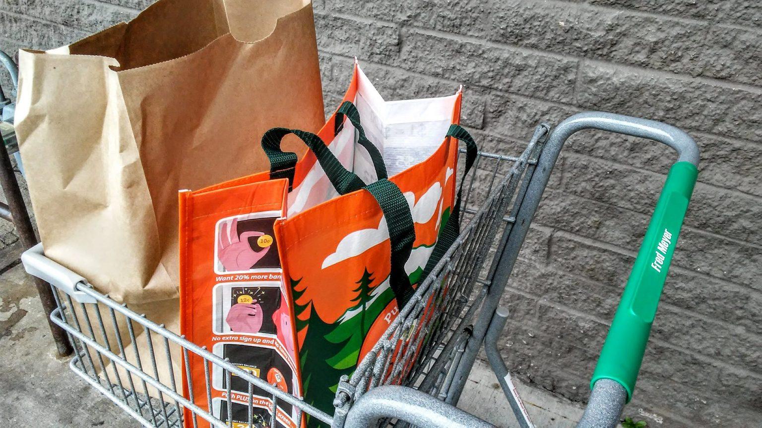 grocery sacks